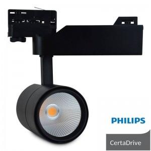Spot LED 40W triphasé Philips Driver