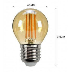 ampoule led e27 vintage filament