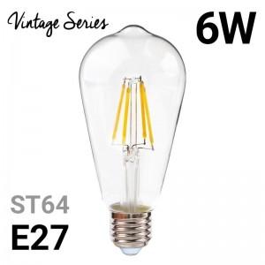 Ampoule LED à filament vintage