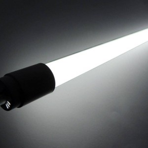 Tube LED T8 600mm en verre de 9W Opale