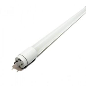 Tube LED T8 120cm en verre 18W Opale
