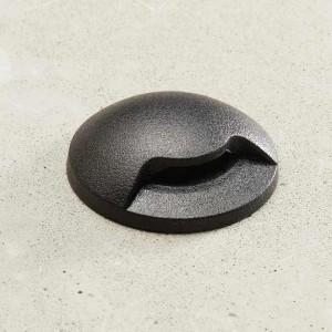 Support spot encastrable rond Blanc diamètre 50mm, Ø75mm