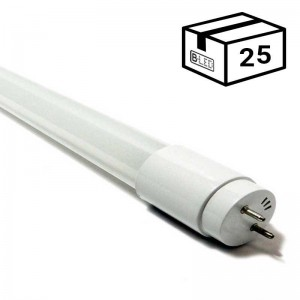 PACK Tube LED T8 120cm en verre 18W Opale (25 u.)