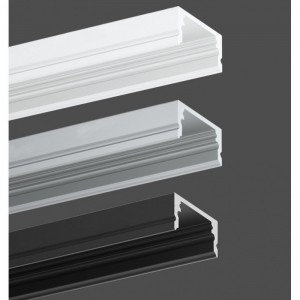 Profilé en aluminium 17x8 mm. Envoi sous 24h - 48h !!!