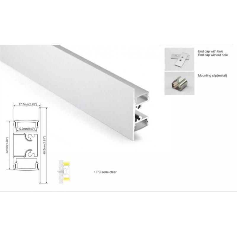 Profilé aluminium pour ruban led
