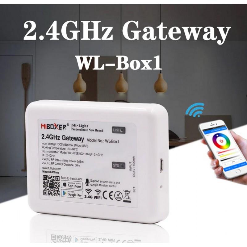 Contrôleur Wifi IBOX2.0 pour ampoule E27 / GU10 / ruban RGBW