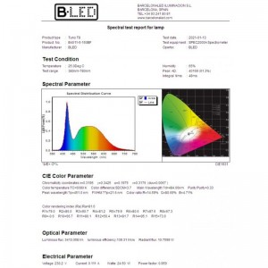 Tube LED T8 haute efficacité