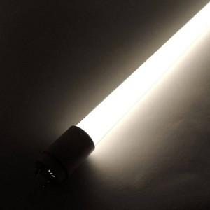 Tube LED T8 120 cm en verre 18W Opale (10 u.)