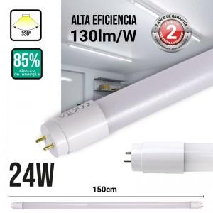 Tube LED T8 24W 150cm 130 LM/W