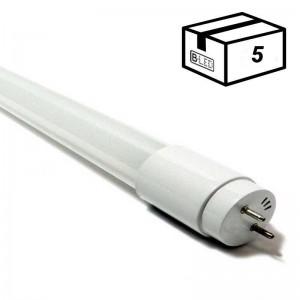 PACK Tube LED T8 90cm en verre 14W Opale (5 u.)