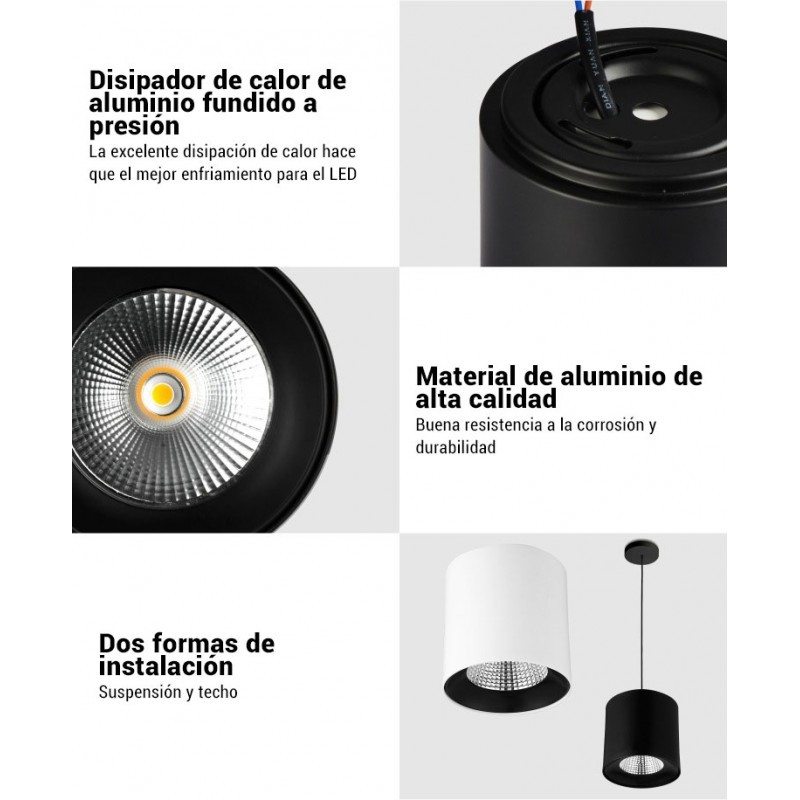 Support Encastrable Rond Basculable aluminium standard