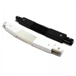 Connecteur flexible pour rail monophasé