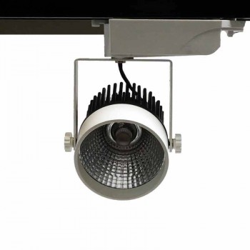 Projecteur LED rail Monophasé 25W