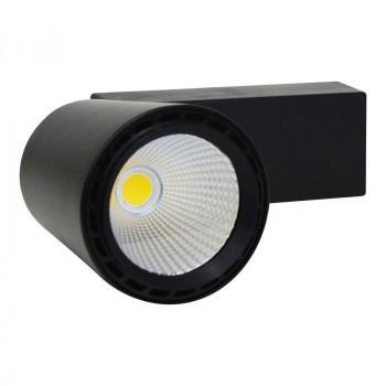 Spot LED rail Monophasé 25W