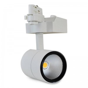 Projecteur LED Rail Triphasé 40W 45º (COB CITIZEN)