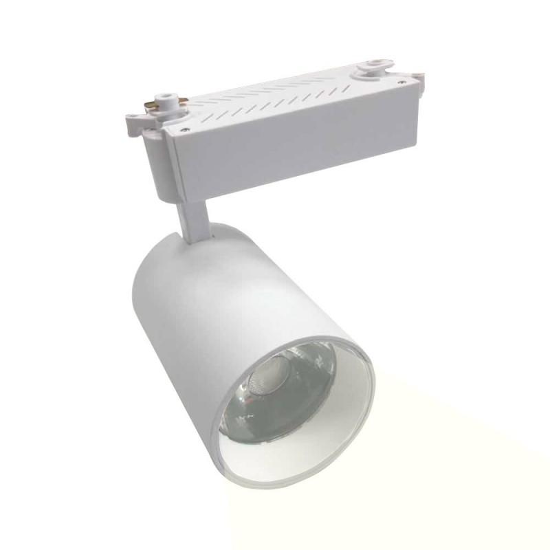 PROJECTEUR LED POUR RAIL MONOPHASÉ 45º 30W