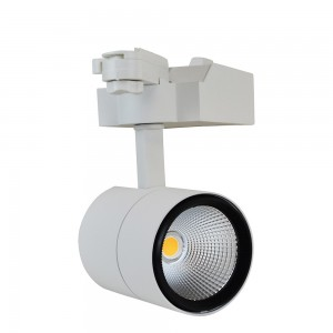 SPOT LED RAIL MONOPHASÉ 25W (COB HONGLITRONIC) DRIVER PHILIPS ANGLE 45º