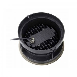 Spot de sol encastrable LED RGB 12V IP67 18W