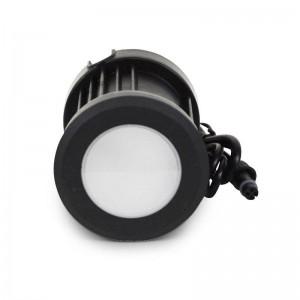Lèche-mur LED RGB extérieur encastrable 12W 12V IP67