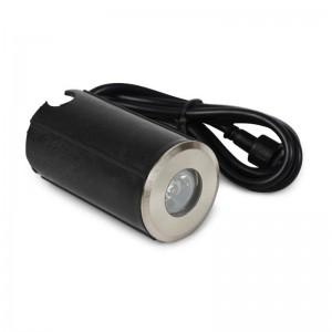 Spot LED de sol 1,5W 12V IP67 Blanc Chaud