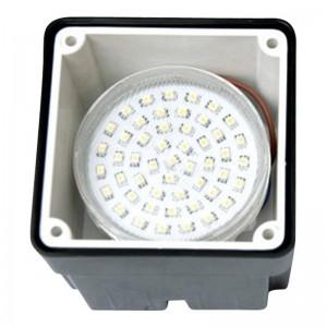 Applique LED encastrable LETI 100 3W 4000K