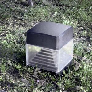 Piquet jardin Ester Fumagalli avec ampoule LED GX53 10W