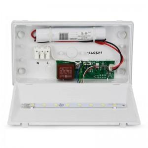 Balise secours LED 150 lumens IP42 pour intérieur
