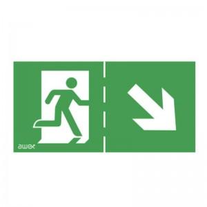 Pictogramme EXIT pour balise de secours