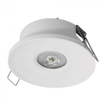 Luminaire de secours encastrable AX P 120 lumens IP20