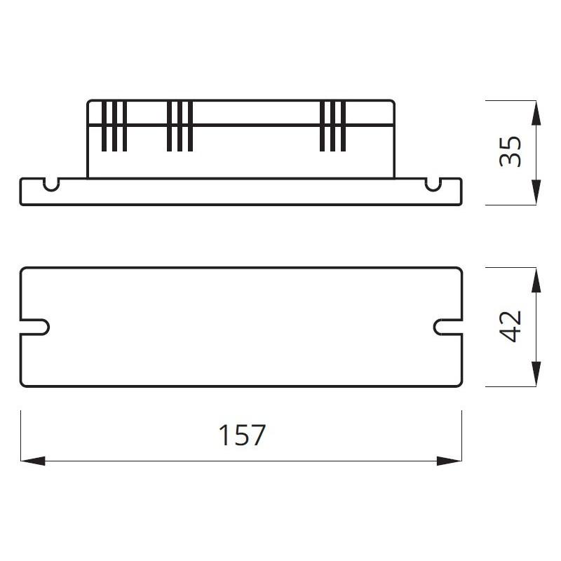 Kit de conversion luminaire de secours 1-9W