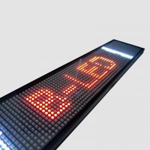 AFFICHEUR LED RGB 50 x 9,5 CM