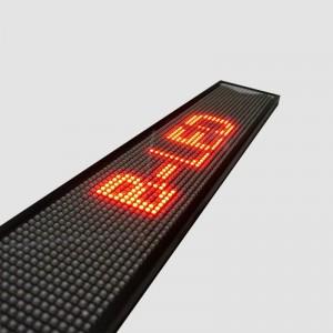 AFFICHEUR LED ROUGE 50 x 9,5 CM