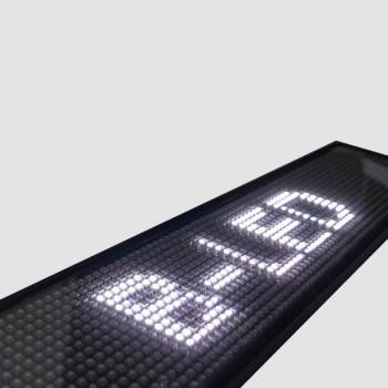 Afficheur LED blanc 50 X 9,5 CM
