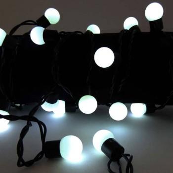 Guirlande LED extérieur mini boules 3W 230V-AC