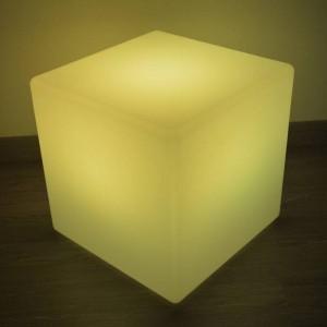 Cube LED lumineux RGBW 40cm