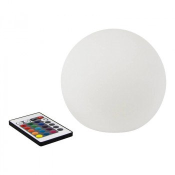 Boule lumineuse LED RGBW 15cm