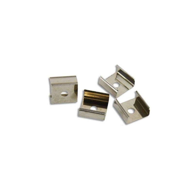 Clip fixation métallique néon flexible 24V