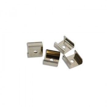 Clip fixation métallique pour Néon Flex LED 24V