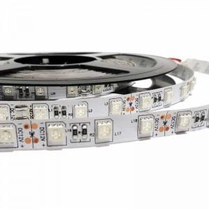 Ruban LED 12V  SMD 5050 72W IP20  5M (BF, BC, R, B,Ambre)