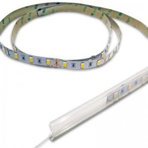 Étui étanche IP67 x1m pour ruban LED de 10mm
