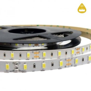 Ruban LED 5M, 12V-DC, SMD 5630, 75W, IP20, Blanc Extra Chaud Plus