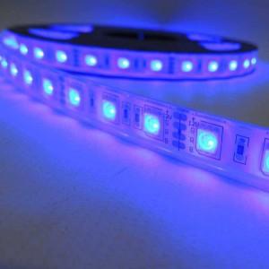 Ruban LED 12V SMD5050 72W IP67 5M RGB