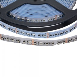 Ruban LED 24V SMD 3030 120W IP20 12mm - Haute luminosité 5m RGB