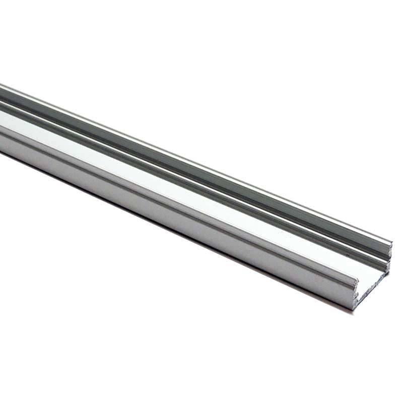 Profilé en aluminium de surface 17x8 mm