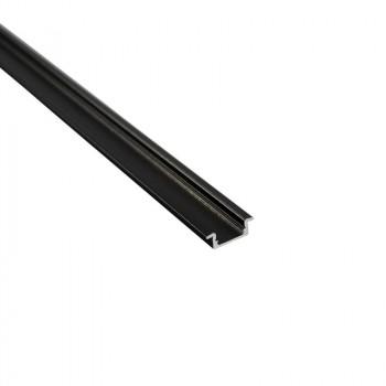 Profilé aluminium 23x8 mm à encastrer (2 m)
