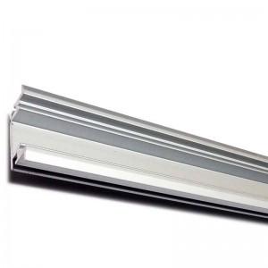 Profilé en aluminium 27x11mm pour encastrer au sol imperméable