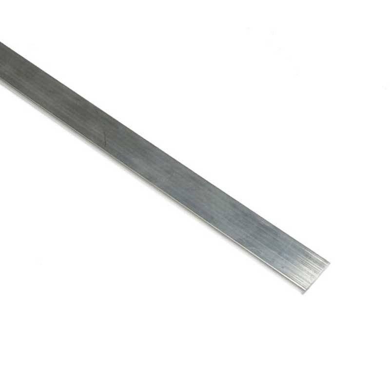 Plaque aluminium 20x3mm (Barre 2m)