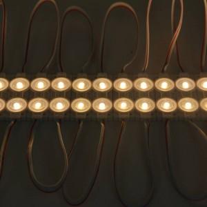 Pastilles LED deux puces SMD2835 1.2W 12V IP65