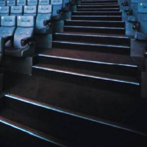 Profilé de surface pour marches d'escaliers 80x50mm