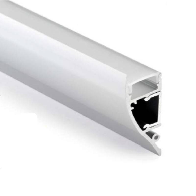 Perfil de aluminio 17x15mm Óptica 60º